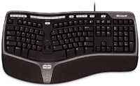 Microsoft Natural Ergonomic Keyboard 4000, USB