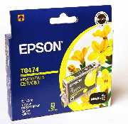 Epson T0474 Yellow for Stylus Photo C63,C65,C83,St...