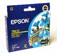 Epson T0472 Cyan for Stylus Photo C63,C65,C83,Stylus CX3500,CX6500