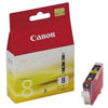 Canon CLI8Y, Yellow Ink for PIXMA iP4200, iP4300, iP5200, iP5200r, iP5300,MP500, MP530, MP600, MP600R, MP800, MP800R, MP810, MP830