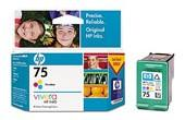 HP 75 TRICOLOR INK CARTRIDGE CB337WA FOR OFFICEJET...
