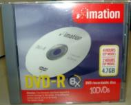 Imation 10pcs DVD+R Blank