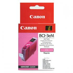 Canon BCI3eM Magenta for S400/450 series,S500/600 series,S4500,S6300,BJC-3000/6000 series, Multipass C100,ImageCLASS MPC600F/400