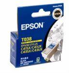 Epson T038 Black for Stylus C41SX / C41UX.