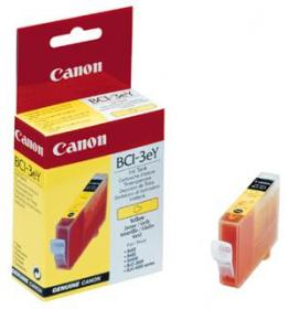 Canon BCI3eY Yellow for S400,S450,S500/600 series,S4500,S6300,BJC-3000/6000 series, MultiPASS C100, ImageCLASS MPC600F/400