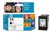 HP NO 74 BLACK INK CARTRIDGE