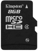 8GB Kingston microSDHC™ Card [SDC4/8GB],...