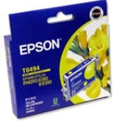 Epson T0494 Yellow for Stylus Photo R210,R230,R310,R350,RX510,RX630,RX650