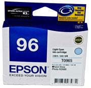EPSON LIGHT CYAN INK CARTRIDGE FOR STYLUS PHOTO R2...