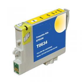 Ink Compatible For Epson T0634, Yellow