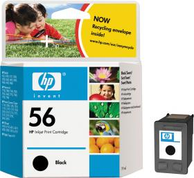 HP No 56, C6656AA, Black for HP Deskjet 5550, 5551...