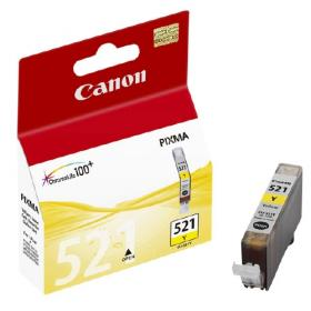 Canon CLI521Y YELLOW INK CARTRIDGE FOR MP540/620/6...