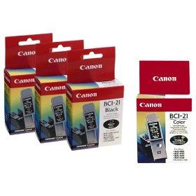 Ink Compatible For Canon BCI-21 Black
