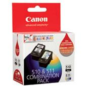 Canon PG510CL511CP 1X PG510 BLACK INK CARTRIDGE AN...