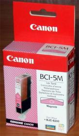 Canon BCI5M Magenta Ink for BJC-8200 PHOTO