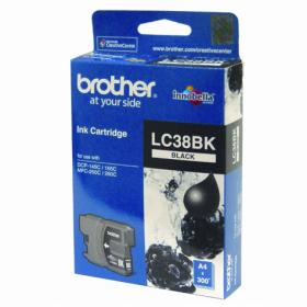 BROTHER LC-38BK ORIGINAL BLACK INKJET CARTRIDGE