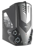 Aerocool Syclone case, Grey, No PSU