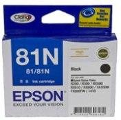 Epson 81N BLACK INK CART HIGHCAP CLARIA INK TX650,...