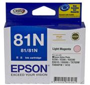 EPSON 81N LIGHT MAGENTA HIGHCAP INK FOR R290,RX610...
