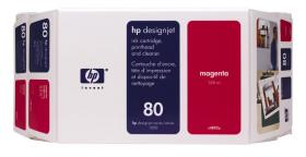 HP NO 80 C4847A, Magenta Ink 350ml HP DesignJet 1050C and 1055CM printers