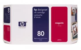 HP NO 80 C4874A, Magenta Ink 175ml HP DesignJet 1050C and 1055CM printers