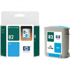 HP NO 82 C4911A, Cyan Ink 69ml for DesignJet 500 and 800
