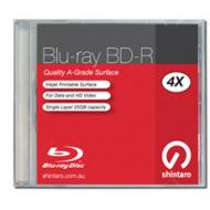 Shintaro BD-R Blu-ray 25GB 4X IJ single layer jewe...