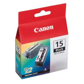 Canon BCI15BK Black Ink Cartridge for i70/i80/IP90 Portable