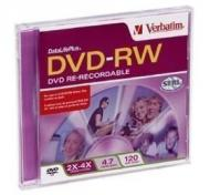 Verbatim DVD-RW 4X with Case