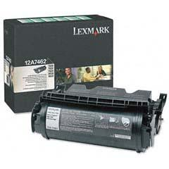 LEXMARK 12A7462 T63X RETURN PROGRAM PRINT CARTRIDG...