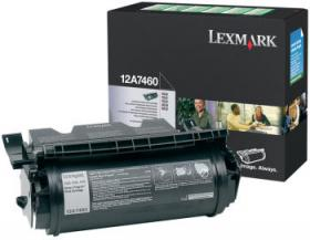 LEXMARK 12A7460 T63X RETURN PROGRAM PRINT CARTRIDG...