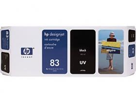 HP NO 83 C4940A, UV Black Ink for Suits DesignJet 5000 and 5000PS