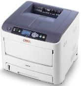 OKI C610 34PPM COLOUR DIGITAL PAGE PRINTER BUILT I...