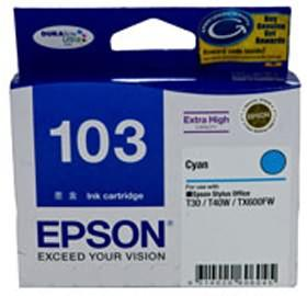 EPSON T103292 EXTRA HIGH CAPACITY CYAN T40W,TX610FW,TX510FN,T1100..., [C13T103292]