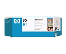 HP NO 90 CYAN PRINTHEAD AND CLEANER, [C5055A]
