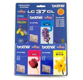 BROTHER M,Y COLOR PACK LC37C, FOR DCP135C/150C MF2...
