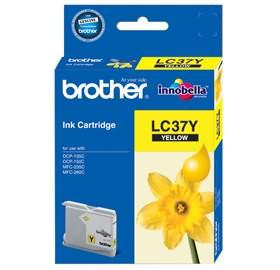 BROTHER YELLOW INK LC-37Y FOR DCP-135C/150C,MFC-235C/260C