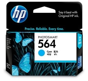 HP 564 CYAN INK CARTRIDGE [CB318WA]
