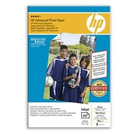 HP ADVANCED GLOSS PHOTO PAPER 60 SHT A6 [Q8008A]