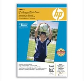 HP ADVANCED GLOSS PHOTO PAPER 25 SHT A6 [Q8691A]