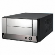Aywun MI-100 Mini-ITX Cube Case, Black w/mirror fr...