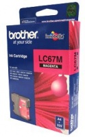 BROTHER MAGENTA Ink LC-67M CARTRIDGES,