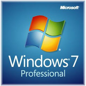 Microsoft Windows 7 Professional 64-bit OEM with SP1, Full Version for fresh installation