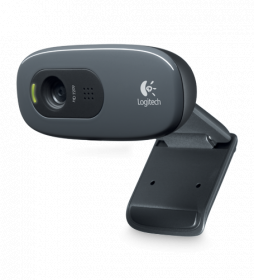 Logitech C270 HD Webcam, 720p, USB Plug & Play...