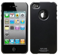 SGP iPhone 4 Cover - Black
