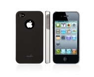Moshi iGlaze4 iPhone 4 cover with protective film ...
