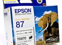 Epson T0870 Gloss Optimiser CART R1900
