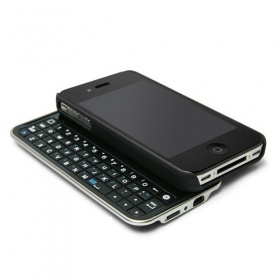 Bluetooth Sliding Keyboard Case for iPhone 4