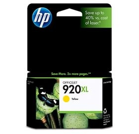 HP 920XL YELLOW INK CD974AA for OFFICEJET 6500