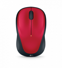 Logitech M235 WIRELESS MOUSE (RED)